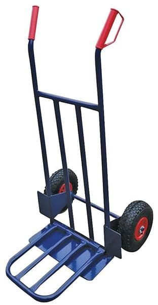 Sack Truck with Large Folding Toe Plate, 200kg - DURATOOL D03451